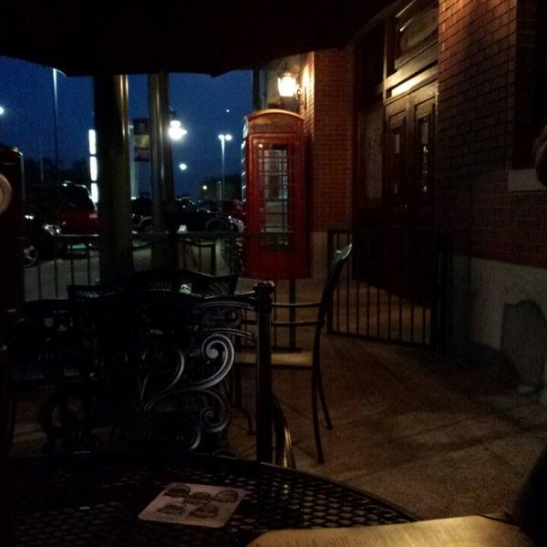 Photo taken at The Lion & Rose British Restaurant & Pub by Rafael H. on 3/16/2014