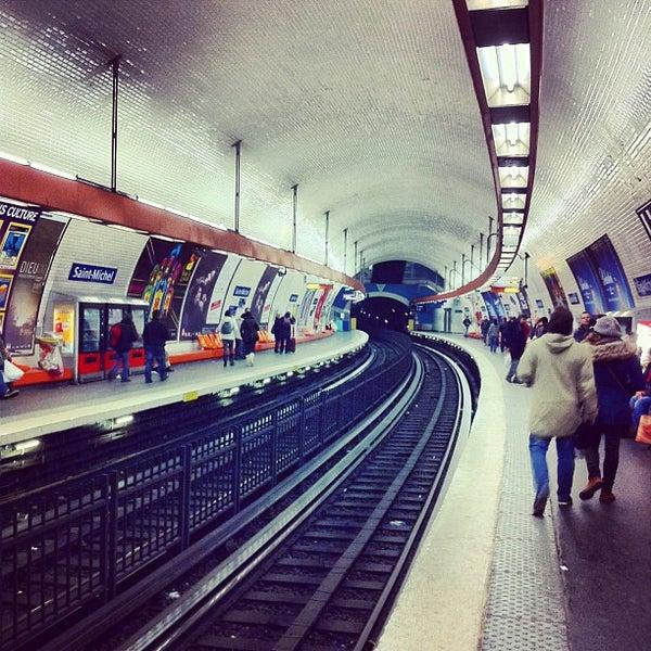M tro saint michel 4 141 boulevard saint michel - Metro saint michel paris ...
