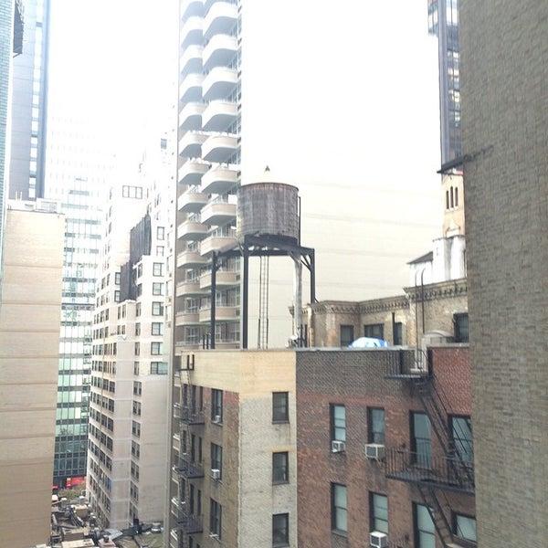 Photo taken at DoubleTree by Hilton Hotel Metropolitan - New York City by Jim L. on 11/23/2014