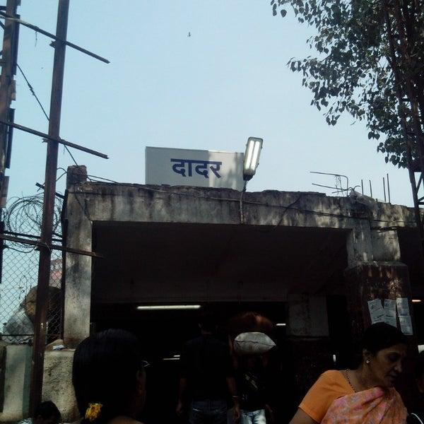 Photo taken at Dadar Railway Station by Prathamesh S. on 11/6/2013