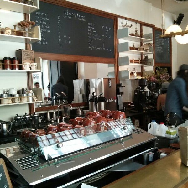 Photo taken at Stumptown Coffee Roasters by Patrick A. on 6/4/2013