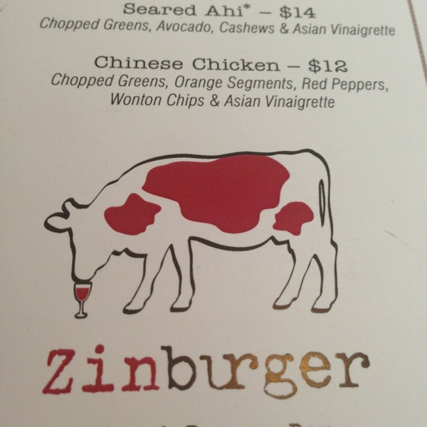 Photo taken at Zinburger by Valerie A. on 7/7/2013