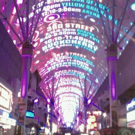 Photo taken at Fremont Street Experience by S W. on 1/1/2013