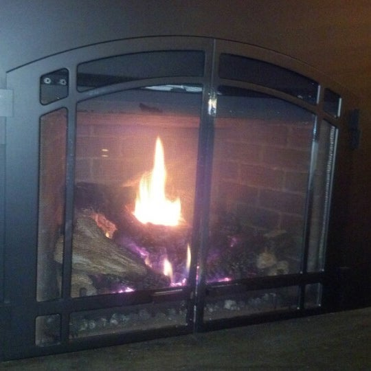 Photo taken at The Fireplace Restaurant by Rhoda C. on 1/6/2013