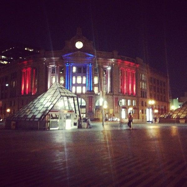 Photo taken at South Station Terminal (MBTA / Amtrak) by Frank P. on 8/21/2013
