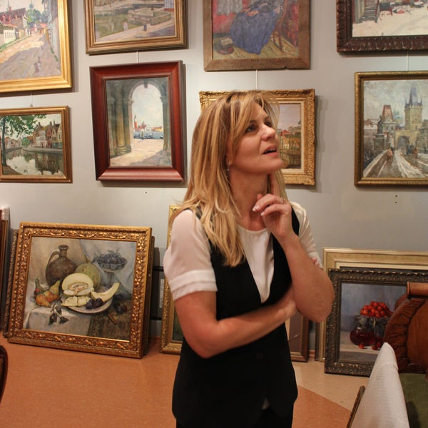 Завершающие дни работы выставки Арнольда Лаховского (по 31 октября 2016)