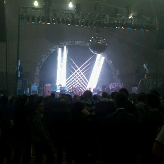Photo taken at Main Street Armory by Kenny P. on 10/25/2011