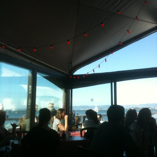 Photo taken at Pier 23 Cafe by Nicole J. on 4/21/2012