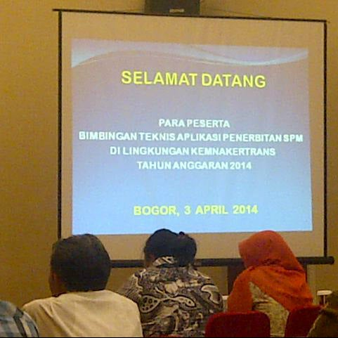 Photo taken at Grand Ussu Hotel & Convention by Panji P. on 4/4/2014