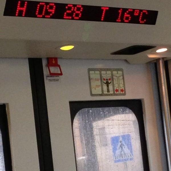 Photo taken at RENFE El Masnou by Yvonne T. on 3/6/2013