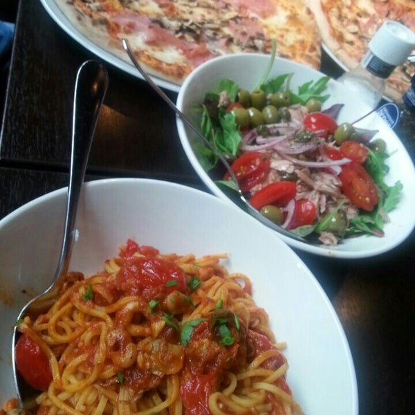 Photo taken at Very Italian Pizza by Katie G. on 7/5/2015