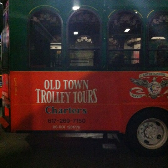 Photo Taken At Old Town Trolley Tours Boston By Brooke J On 12 2