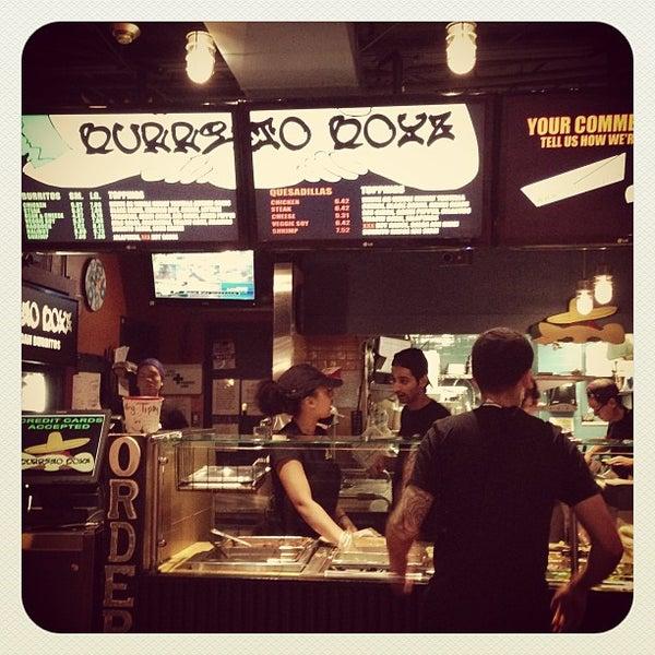 Photo taken at Burrito Boyz by Eric L. on 9/5/2013