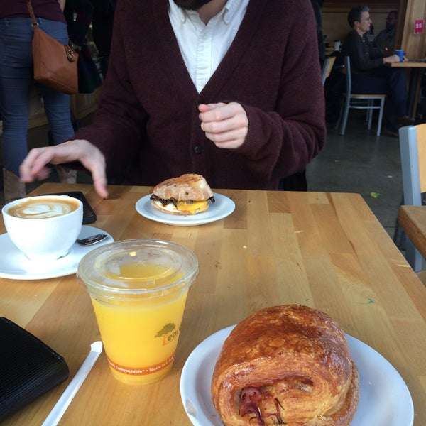 Photo taken at Crema Bakery and Cafe by Haley W. on 11/28/2016