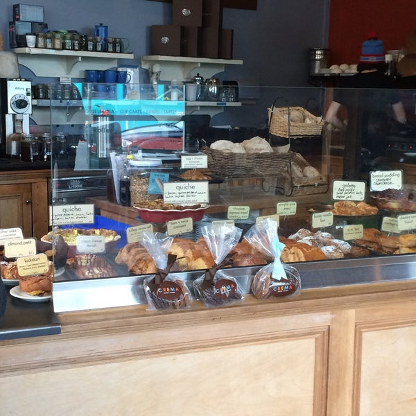 Photo taken at Crema Bakery and Cafe by Haley W. on 2/2/2017