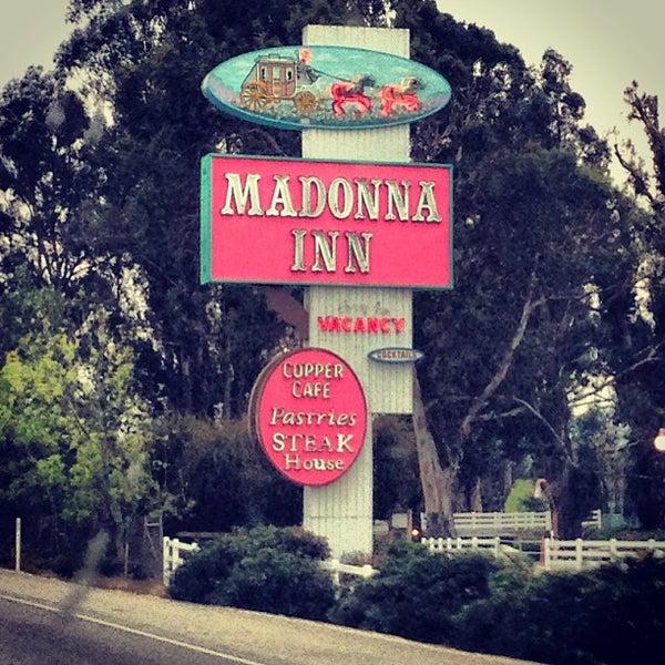 Photo taken at Madonna Inn by Sean B. on 2/2/2013