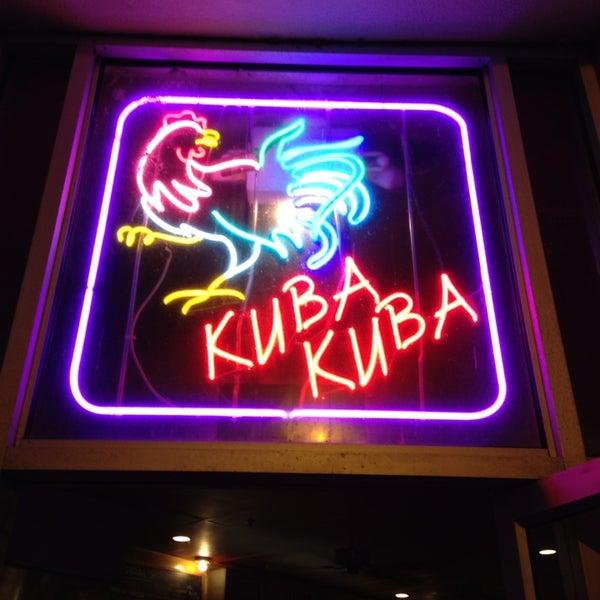 Photo taken at Kuba Kuba by Karin P. on 8/7/2013