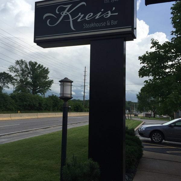 Photo taken at Kreis' Steakhouse by Jill D. on 6/14/2015