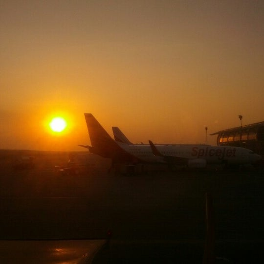 Photo taken at Goa International Airport / Dabolim Airport (GOI) by Aakash B. on 12/3/2012