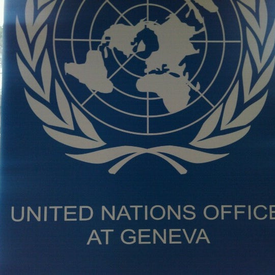 Photo taken at Palais des Nations by Bela B. on 1/18/2013