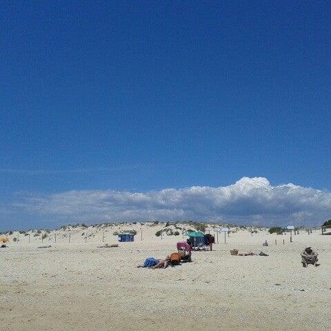 Photo taken at Praia do Barril by Remco v. on 5/4/2013