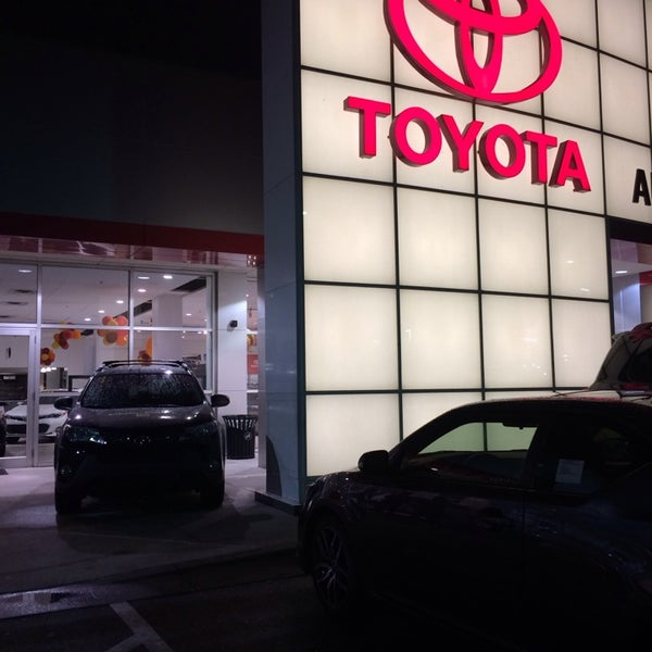Photo Taken At AutoNation Toyota Winter Park By Steph S. On 11/17/