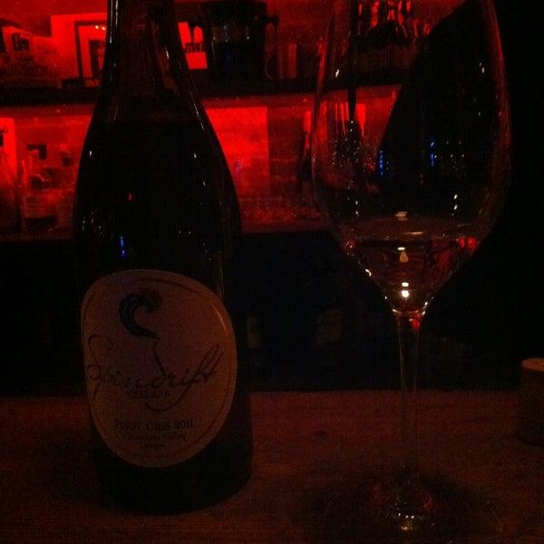 Photo taken at Custom Wine Bar by Keisha R. on 1/26/2013