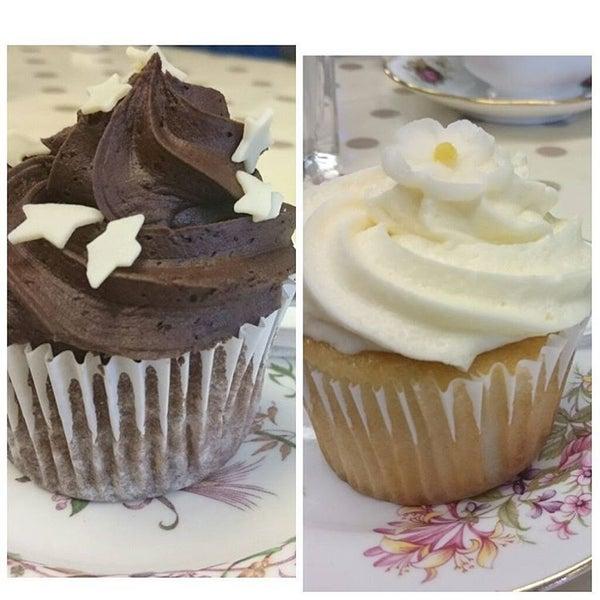 Photo taken at Cupcake Cafe by Graham C. on 10/17/2015