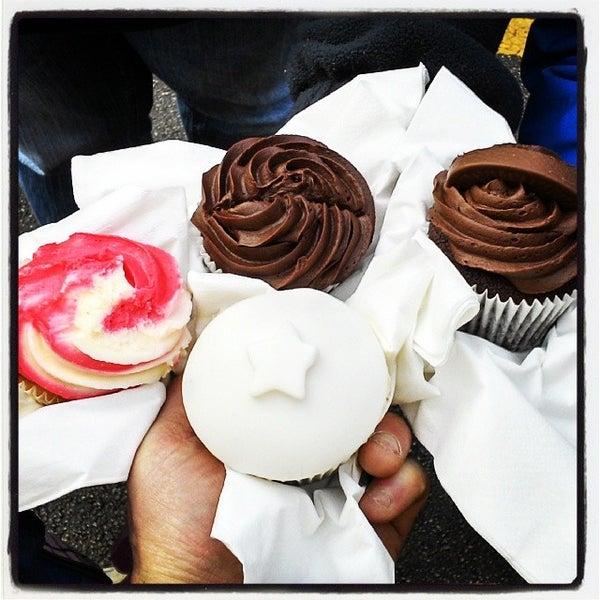 Photo taken at Cupcake Cafe by Graham C. on 12/7/2013