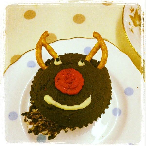 Photo taken at Cupcake Cafe by Graham C. on 12/22/2012