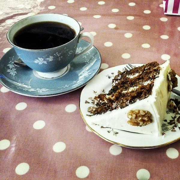 Photo taken at Cupcake Cafe by Graham C. on 6/6/2014