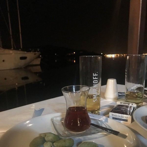 4/15/2018 tarihinde Seçil E.ziyaretçi tarafından Fethiye Yengeç Restaurant'de çekilen fotoğraf
