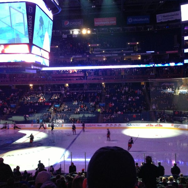 Photo taken at Nationwide Arena by Bryan N. on 2/8/2013