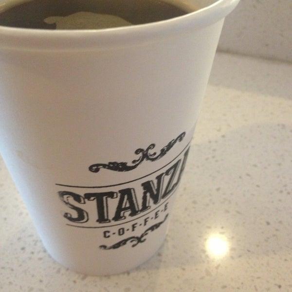 Photo taken at Stanza Coffee Bar by britt b. on 3/31/2013