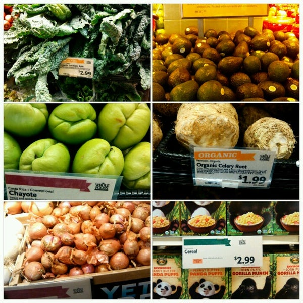 Photo taken at Whole Foods Market by Racha Y. on 1/31/2013