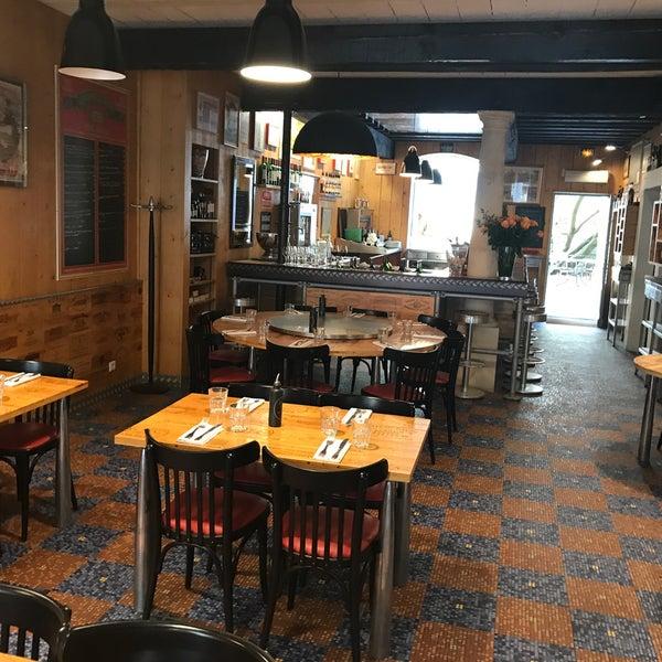L envers du décor french restaurant