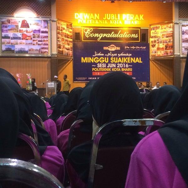 6/15/2016에 Syafiqah N.님이 Politeknik Kota Bharu (PKB)에서 찍은 사진