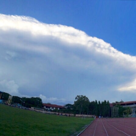 Photo taken at Iloilo Sports Complex by Reaj Y. on 5/26/2014