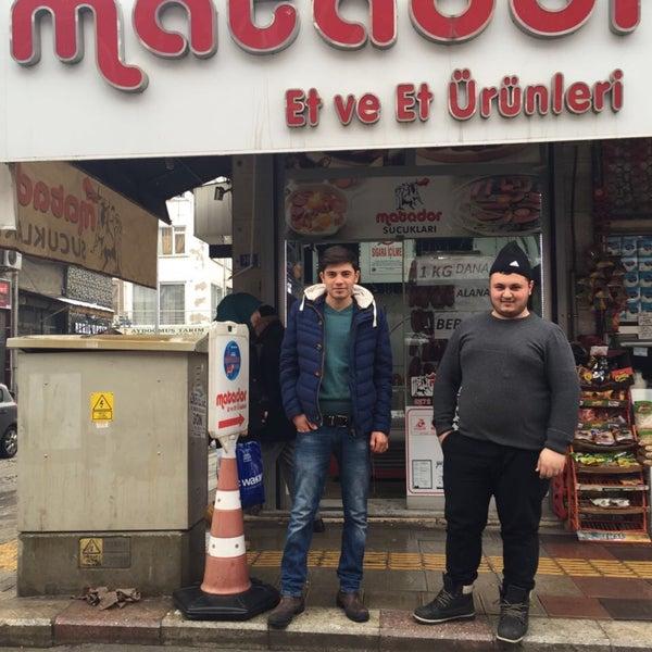 Photo taken at Matador Et ve Et ürünleri by Ahmt A. on 1/25/2017