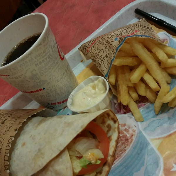 Photo taken at Hesburger by Anete G. on 10/24/2016