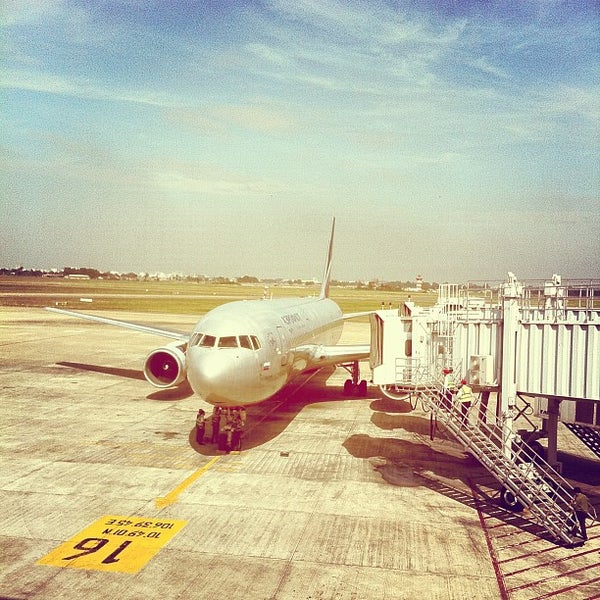 Photo taken at Tan Son Nhat International Airport (SGN) by Grigory O. on 12/15/2012