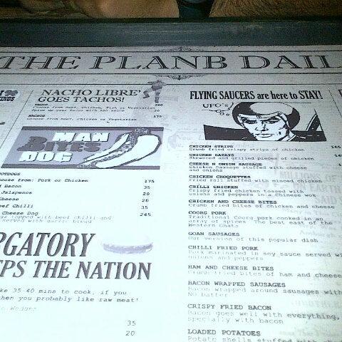 Photo taken at Plan B by Keerthi R. on 10/27/2012
