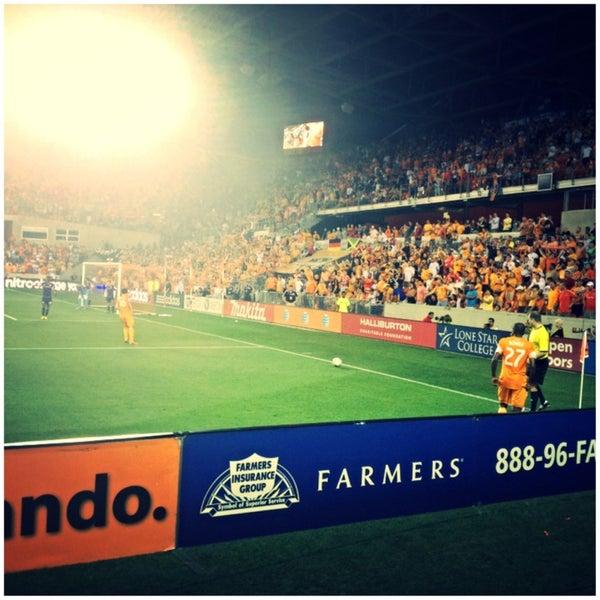 Photo prise au BBVA Compass Stadium par ArtJonak le5/19/2013