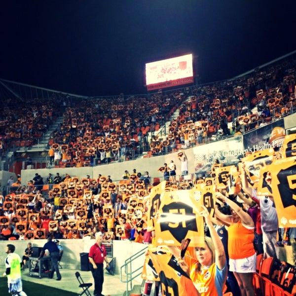 Photo prise au BBVA Compass Stadium par ArtJonak le6/23/2013