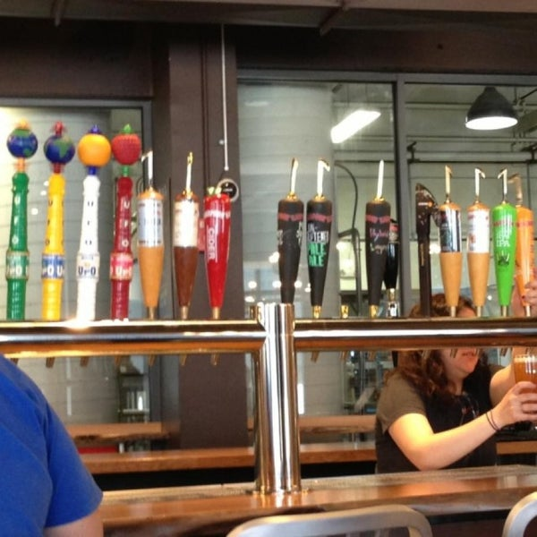 Photo taken at Harpoon Tap Room by Mike P. on 5/16/2013