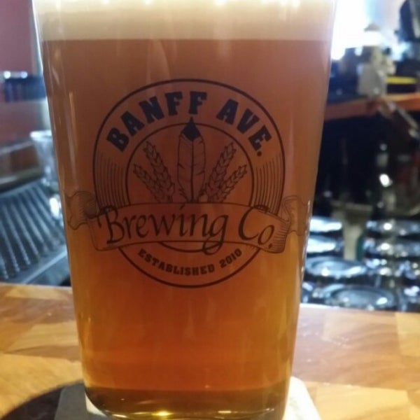 Photo taken at Banff Avenue Brewing Co. by Scott L. on 11/25/2015
