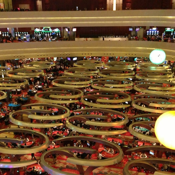 Photo taken at Marina Bay Sands Casino by Olivier B. on 2/5/2013