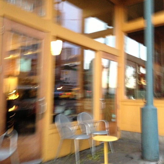 Photo taken at Victrola Cafe and Roastery by Nathan M. on 12/5/2012