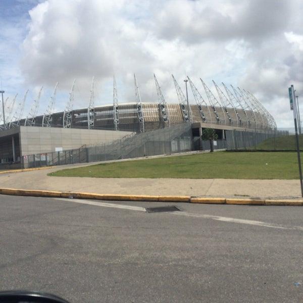 Photo taken at Bairro Castelão by Regina C. on 3/29/2016