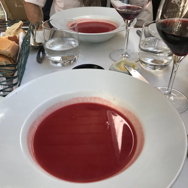 First time trying the beet soup